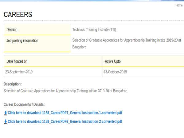HAL Recruitment: Graduate Apprentices