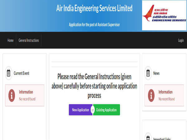 Air India Recruitment: Apply Online For 170 Assistant Supervisors Post Before November 5