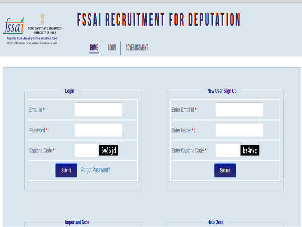 FSSAI Recruitment: 44 Vacancies