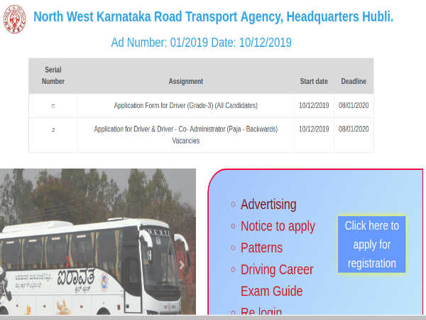KSRTC Jobs: Apply Online For 2,814 Drivers And Driver-Cum-Administrators Post Before January 8