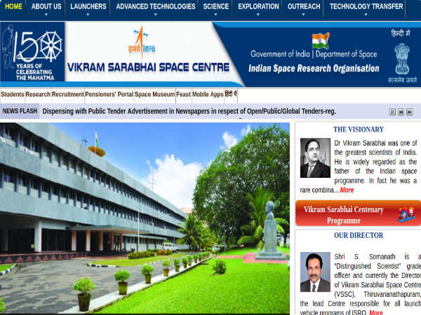 ISRO Recruitment 2019: Apply Online For 80 Scientists/Engineers Post, Earn Up To Rs. 1 Lakh A Month