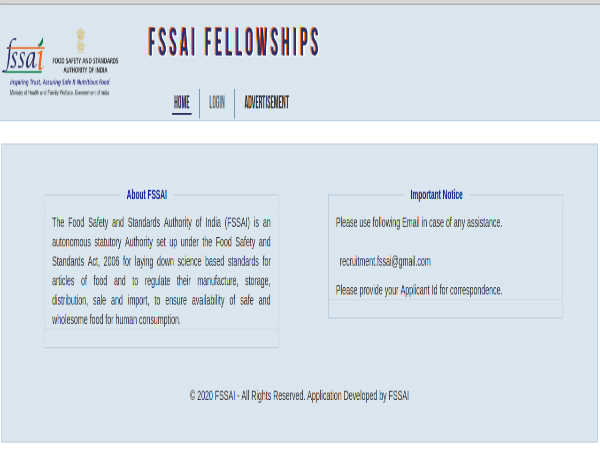 FSSAI Recruitment: Apply Online For 26 Senior And Junior Fellows Before February 21