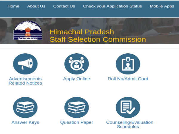 HPSSC Recruitment 2019: 1,099 Vacancies
