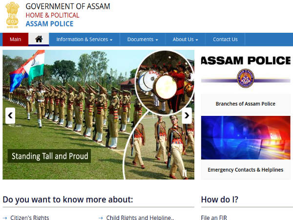 Assam Police Constable Recruitment For 1283 Vacancies