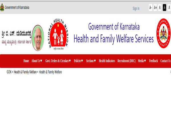 Karnataka Health Department Recruitment For Doctors In Bagalkot DHFWS Through 'Walk-In' Selection