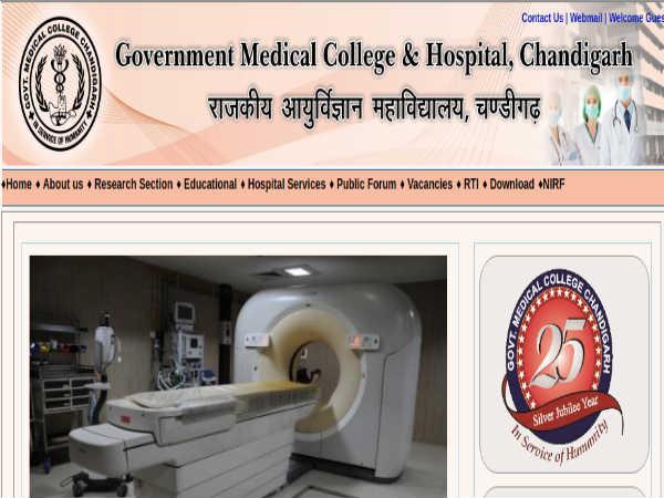 GMCH Chandigarh: 112 Staff Nurse