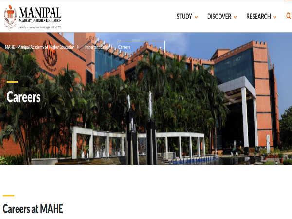 Manipal University: Asst. Profs & JRF