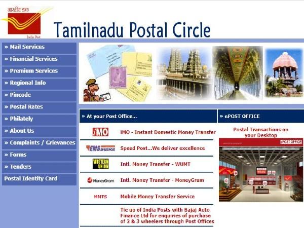 Tamilnadu Postal Circle: GDS & MTS Posts