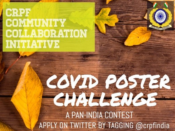 CRPF COVID Poster Challenge: Entry