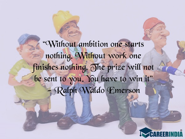 Labour Day Quotes: Ralph Waldo Emerson