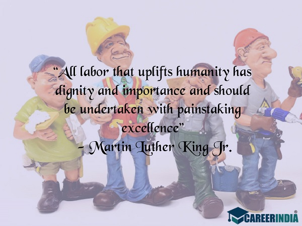 Labour Day Quotes: Martin Luther King Jr.