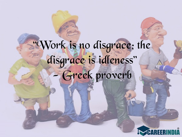 Labour Day Quotes: Greek proverb