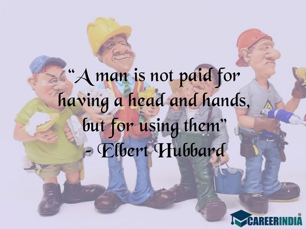 Labour Day Quotes: Elbert Hubbard