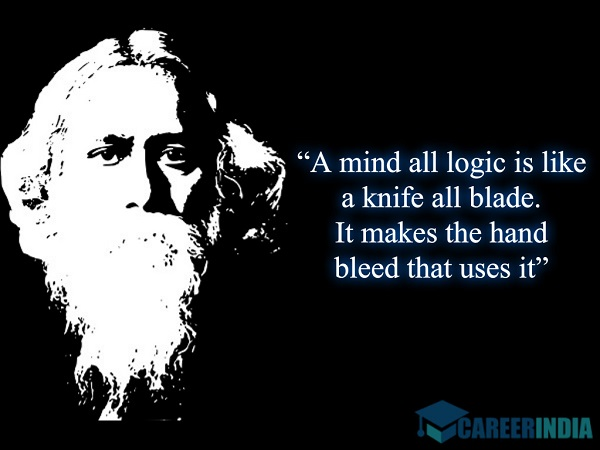 Rabindranath Tagore Quotes On Education #4