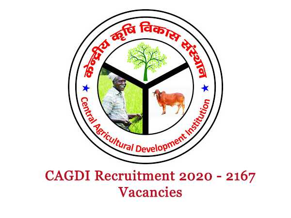 CAGDI Recruitment 2020 For 2,167 Investment Officers And Managers Post, Apply Online Before June 25