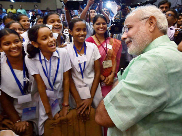 Modi Discusses Education Sector Reforms