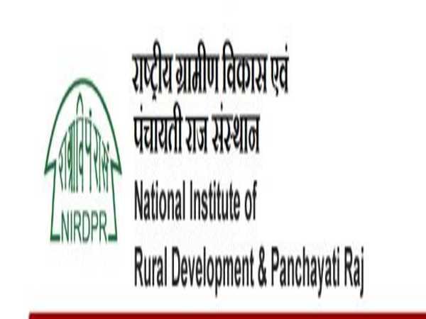 NIRDPR Recruitment 2020: 34 Vacancies