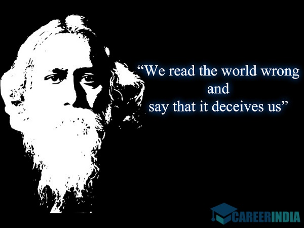 Rabindranath Tagore Quotes On Education #9