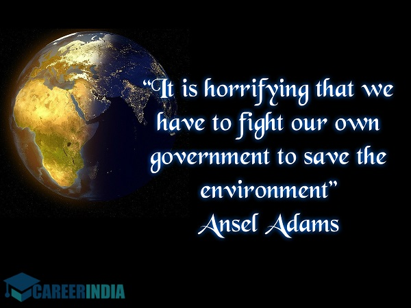 Environment Day Quote - Ansel Adams