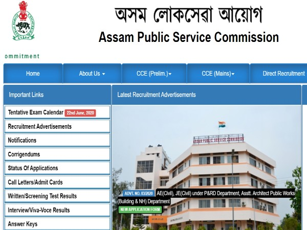APSC Recruitment 2020 Notification For 577 Junior And Asst. Engineers, Apply Offline Before July 24