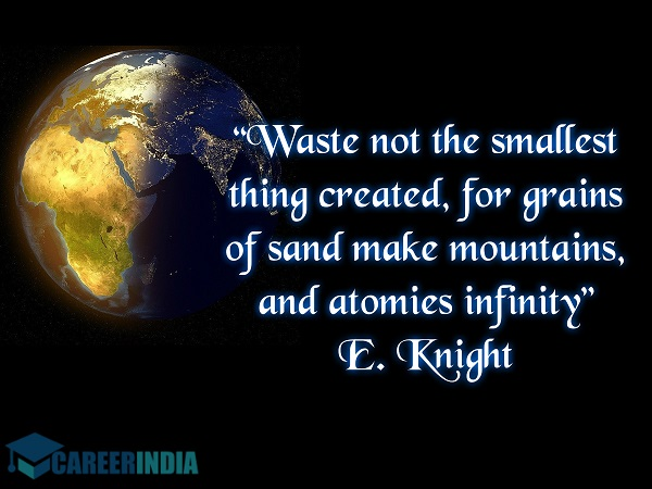 Environment Day Quote - E. Knight