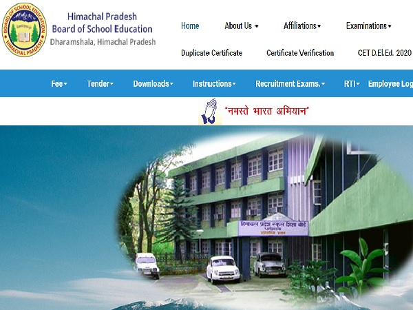HPBOSE 10th Result 2020 Details