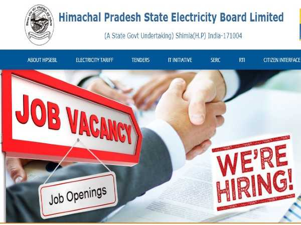 HPSEB Recruitment 2020: 1,892 Vacancies