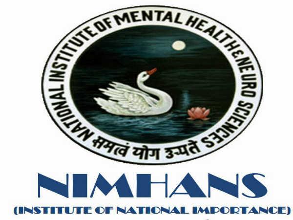 NIMHANS Recruitment 2020: 34 Vacancies