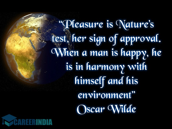 Environment Day Quote - Oscar Wilde
