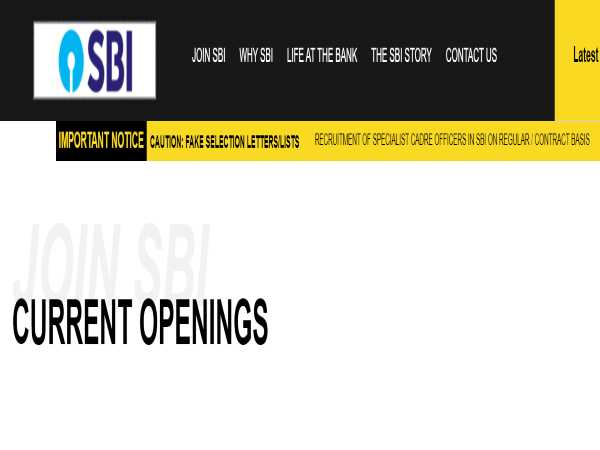 SBI SO Recruitment 2020: 26 CA/Executive
