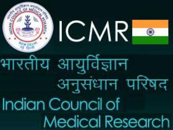 ICMR Recruitment 2020: Tech Assistants