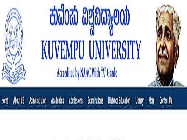 Kuvempu University Recruitment 2020: 286