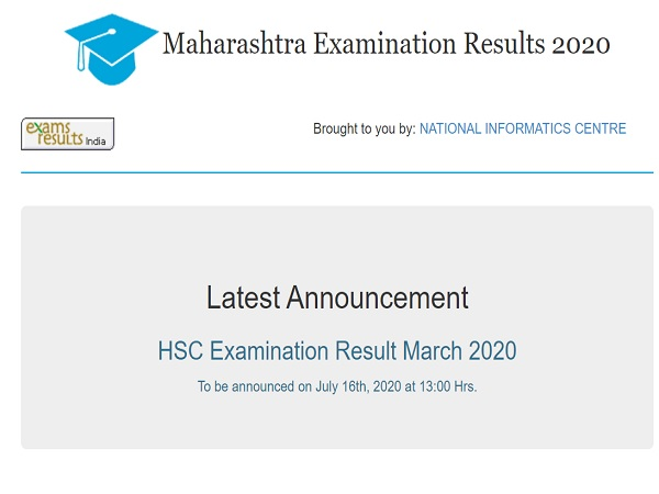 Maharashtra HSC Results 2020 On July 16 At 1 PM