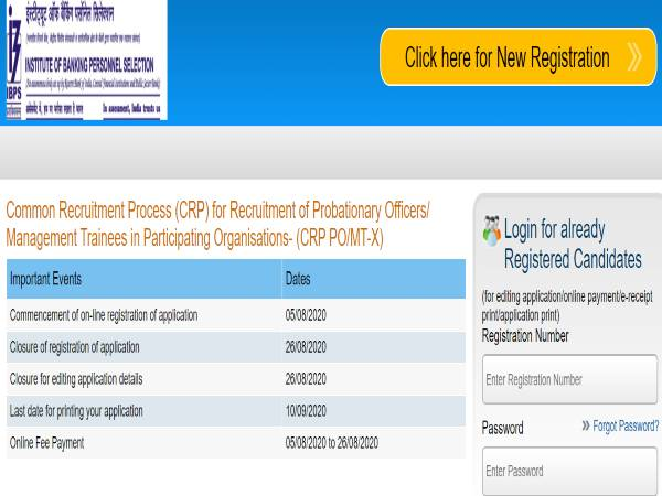 IBPS Recruitment 2020 Notification:PO/MT