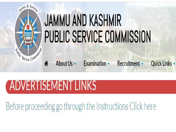 JKPSC Recruitment 2020 Notification For 900 Medical Officers, Apply Online From August 5 Onwards