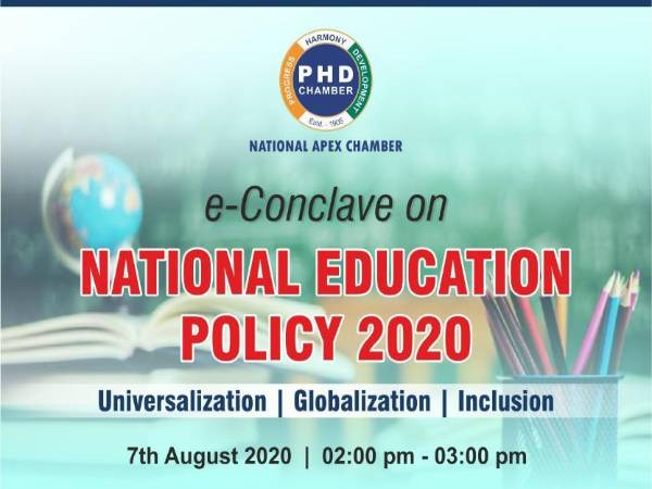 E-Conclave On National Education Policy 2020. Check For Registration And Other Details Here