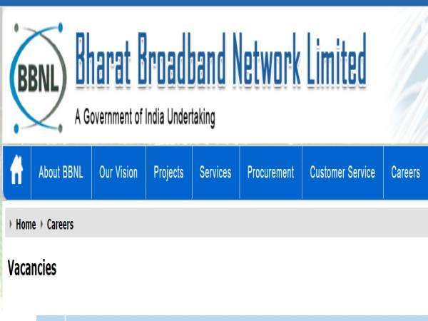 BBNL Recruitment 2020 For 31 Consultant Posts, E-mail Applications Before September 24