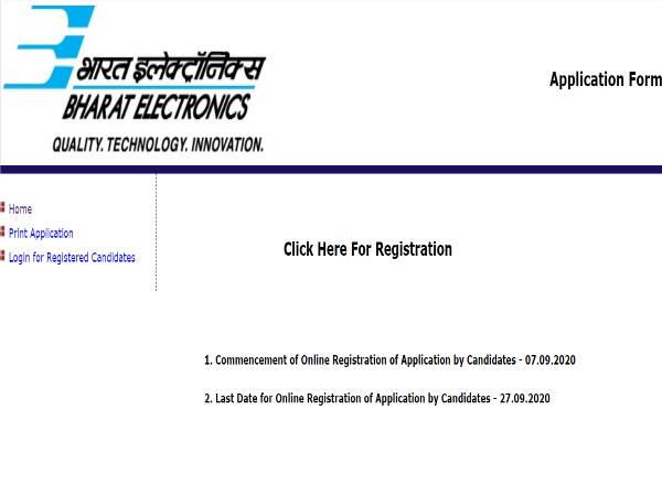 BEL Recruitment 2020 For 37 Project Engineer - I Posts, Register Online Before September 27
