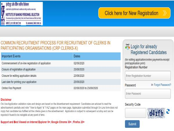 IBPS Clerical Cadre Jobs 2020: Clerks