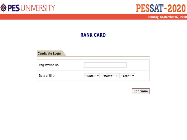 PESSAT Result 2020 Declared