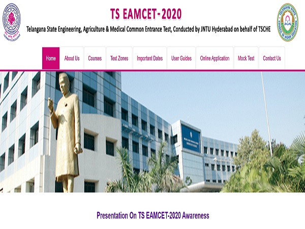 TS EAMCET Admit Card 2020 Released