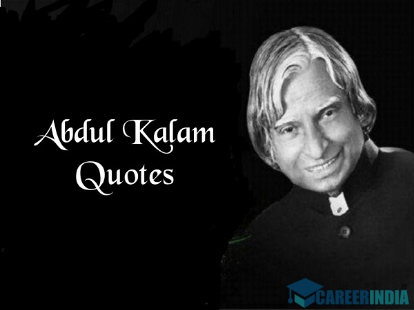 Abdul Kalam Quotes For Students On Education And Success