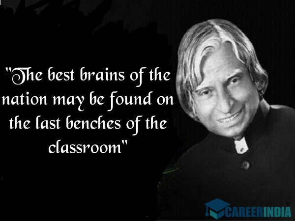 Abdul Kalam Quotes On Education