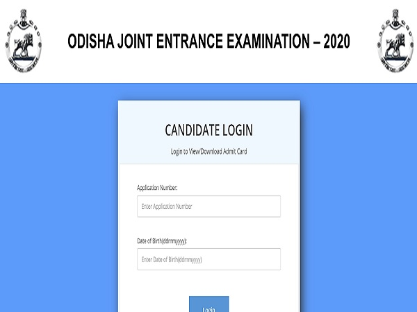 OJEE Admit Card 2020 Released