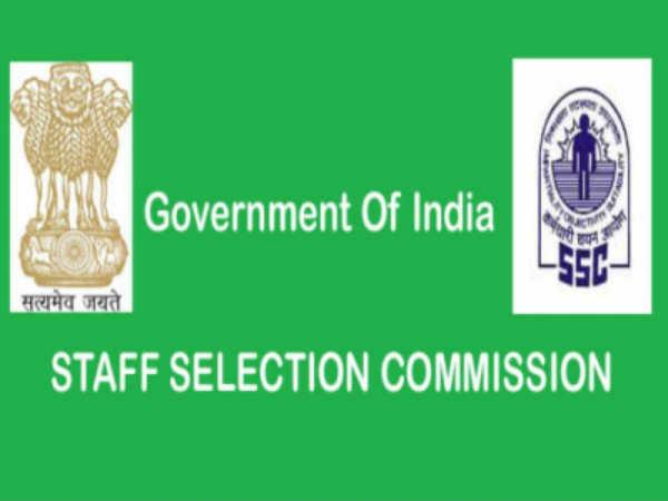 SSC Recruitment 2020 Notification Steno Exams