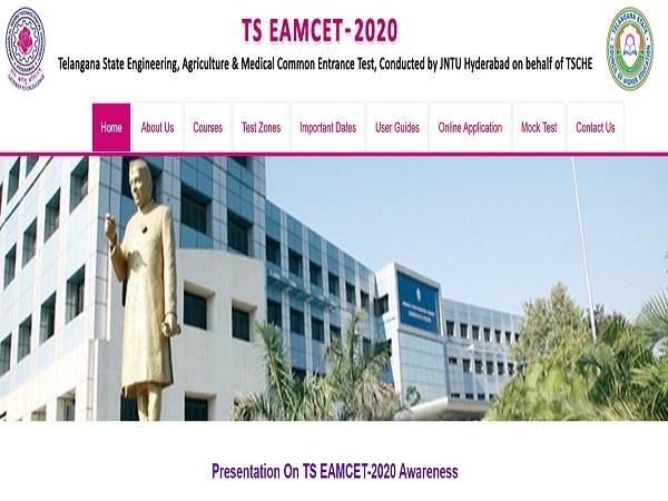 TS EAMCET Result 2020 Details