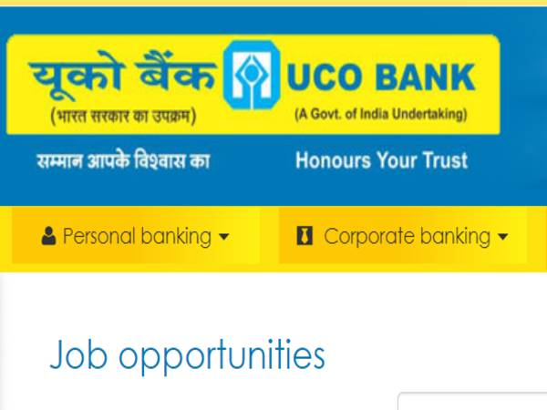 UCO Bank Recruitment 2020 For 91 CA, IT Officer, Engineer And SO Posts, Apply Online Before Nov 17