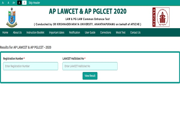 AP LAWCET Result 2020 Declared