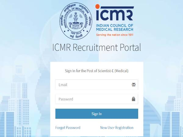 ICMR Recruitment 2020: 65 Scientist E And D Posts