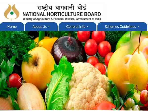 National Horticulture Board Recruitment 2020: HO
